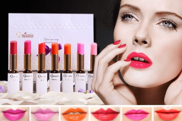 son môi hàn quốc queenie, son queenie, mua son queenie ở đâu, son queenie magic blooming lipstick, bảng màu son lì queenie, bảng màu son queenie, son queenie pink, son queenie glamour matte stick lip tint, son môi queenie skin