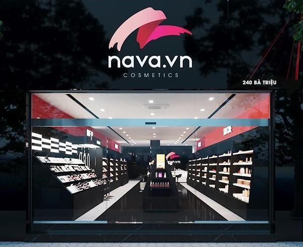 Đại siêu thị mỹ phẩm Nava.vn nằm trên con phố 240 Bà Triệu