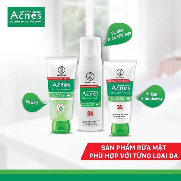 """Review sữa rửa mặt acnes có tốt không hay chỉ là """"một cú lừa""""?"""