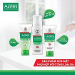 TOP 5 sữa rửa mặt acnes dành cho nam tốt nhất mà các chàng không thể làm ngơ
