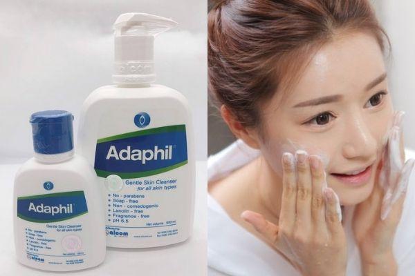 Mách lẻo cho nàng nghe review sữa rửa mặt Adaphil có tốt không?
