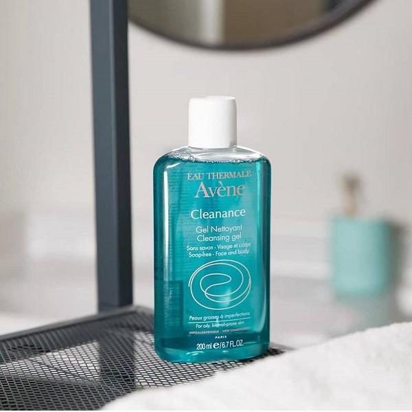"""Review sữa rửa mặt avene cleanance cleansing gel – Có thực sự """"thích mê chữ ê kéo dài""""?"""