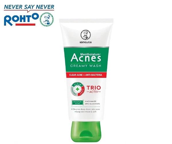 """""""Yêu không cần cớ"""", cần sữa rửa mặt acnes trio activ review có tâm cơ!!!"""