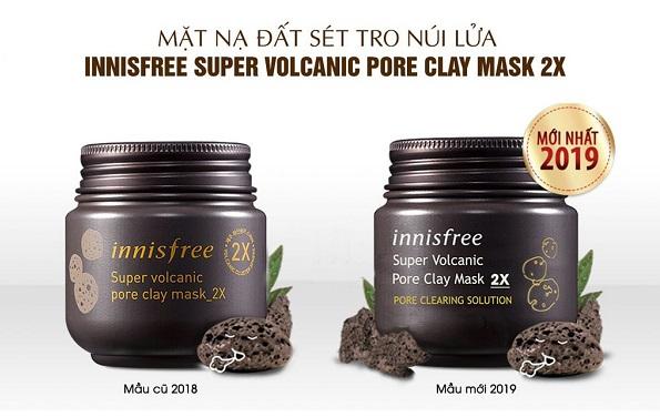 mặt nạ đất sét innisfree giá, mặt nạ đất sét innisfree review, mặt nạ đất sét innisfree cách dùng, mặt nạ đất sét innisfree dạng tuýp, mặt nạ đất sét innisfree giá bao nhiêu, Mặt nạ đất sét Innisfree Super Volcanic Pore Clay Mask 2X, Mặt nạ đất sét Innisfree 2X Review